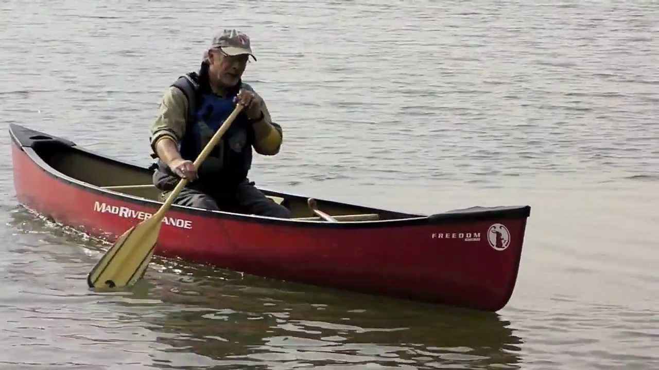 Mad river canoe freedom solo youtube for Mad river fishing