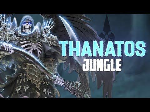 THE GOD OF DEATH CHOOSES YOU! - Incon - Smite - Thanatos Jungle