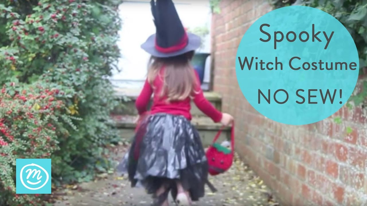 How To Make a Witch Costume for Kids | Channel Mum & How To Make a Witch Costume for Kids | Channel Mum - YouTube