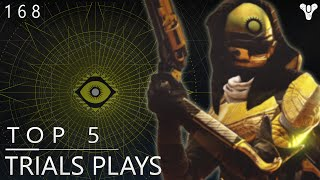 Destiny: Epic Top 5 Trials Of Osiris Plays Of The Week / Episode 168