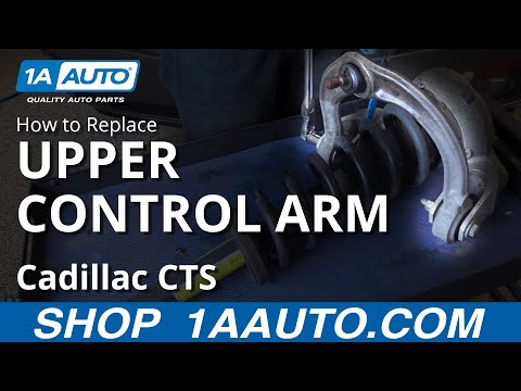 How to Remove Install Upper Control Arm 06 Cadillac CTS