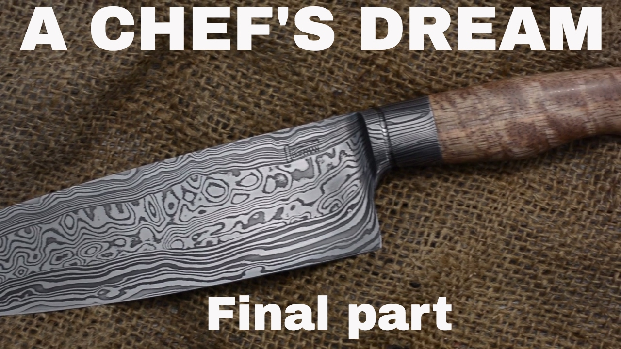 INTEGRAL DAMASCUS CHEFS KNIFE 🔥 Final video! - YouTube