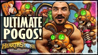 THE ULTIMATE POGO BUILD! - Hearthstone Battlegrounds