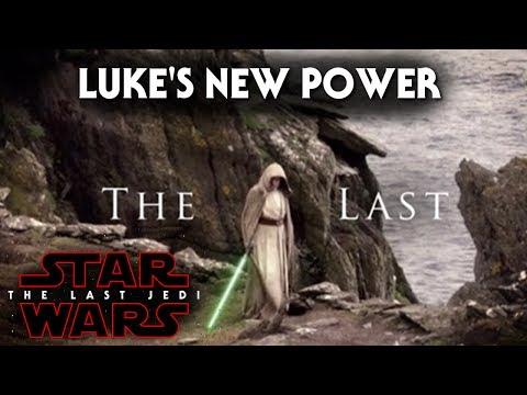 Luke Skywalker's New Exciting Power! - Star Wars The Last Jedi (Battlefront 2)
