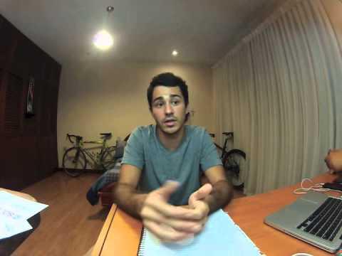 Clinton Global Initiative 2015 Laureate Student Anchor Application Alex Solís Quirós