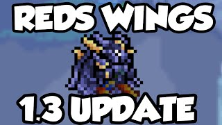 Terraria 1.3 - Red's Wings - Comparison against other Wings [Terraria 1.3 Wings]