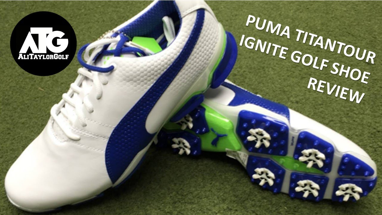 d56928016e4 PUMA TITANTOUR IGNITE GOLF SHOE REVIEW AND GIVEAWAY - YouTube