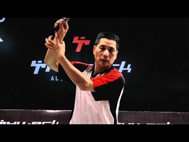 Forehand Net Smash - www.thwack.co