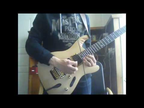 Gamma Ray - When The World (Guitar Cover)