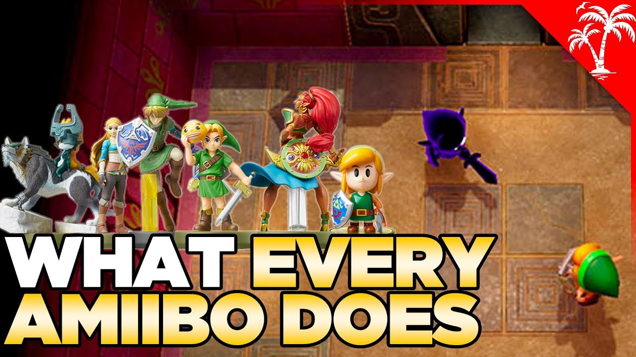 What Every Amiibo Does in Zelda: Link's Awakening (Switch) thumbnail
