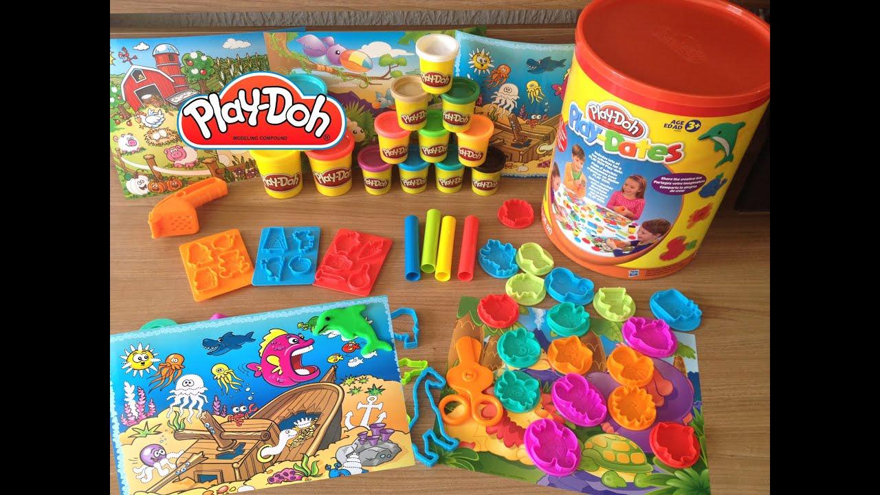 Preferência Play-Doh Play-Dates Baldão de Atividades: Under the Sea activity  UH15