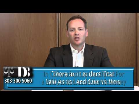 As My Attorney, Can You Lend Me Money? Colorado Personal Injury Attorney D. J. Banovitz