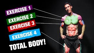 The PERFECT Total Body Workout (Sets and Reps Included)