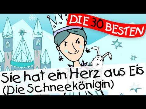 Sie hat ein Herz aus Eis (Die Schneekönigin) - Märchenlieder zum Mitsingen || Kinderlieder