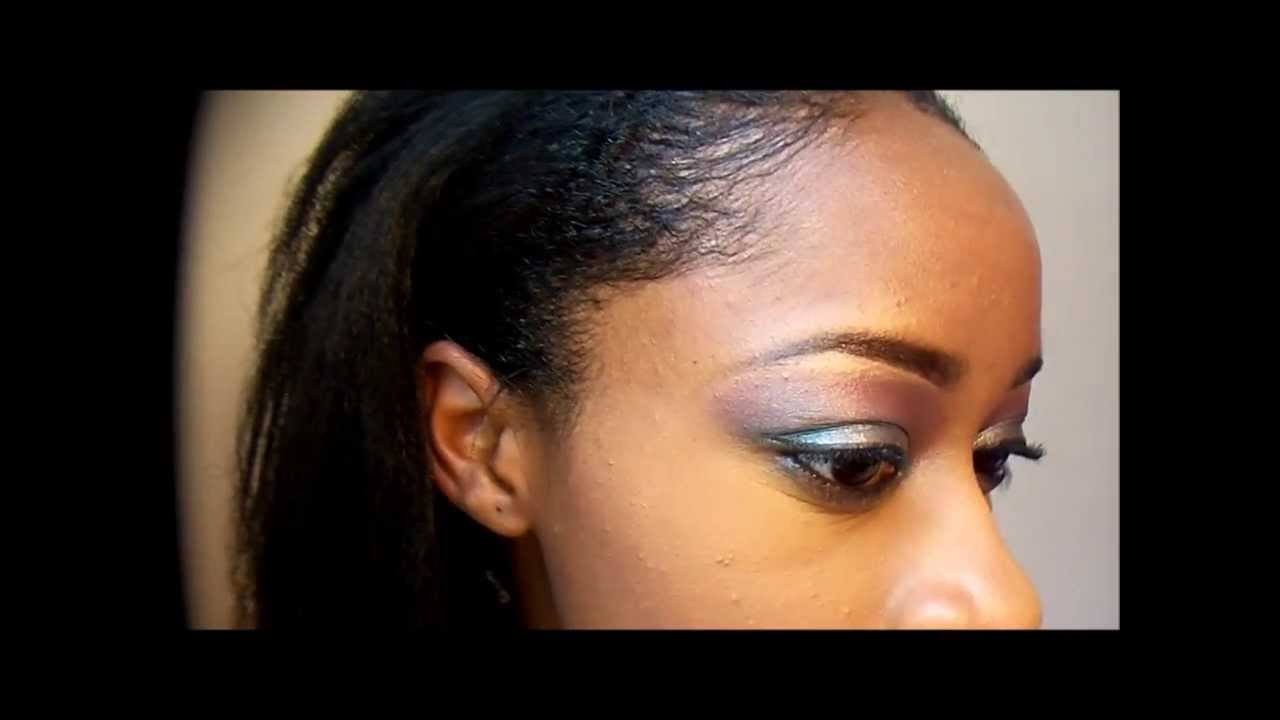 Smooth And Sleek Edges On Relaxed Hair YouTube - Edges hair