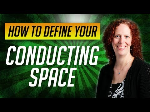 How to Conduct Music: Lesson #1-Define your Conducting Space with the Conducting Window