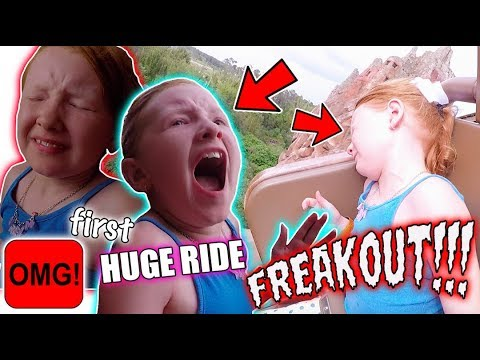 HILARIOUS FIRST HUGE RIDE FREAKOUT! EXPEDITION EVEREST - ANIMAL KINGDOM! FLORIDA 2017 DAY 6!