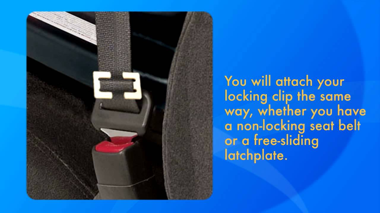 Car Seat Locking Clip Installation