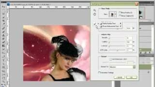 Выделение сложных объектов в Adobe Photoshop CS5