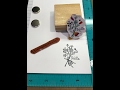 Using Wood Mounted Stamps on The Hampton Arts Stamp Tool