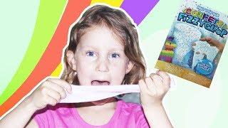 Милана делает американский слайм Confetti fizzy gloop. Что же получилось в этот раз.