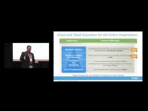 EMC World 2013: Cloud Architect - Do You Have What It Takes to Lead the Transformation?