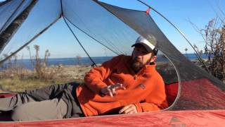 Gear Review Msr Carbon Reflex 2 Ultralight Tent Updated 2016 Redesign Youtube