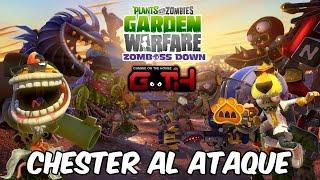 CHESTERR NOOOO! Plantas vs Zombies en Español - GOTH