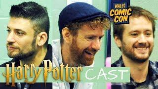 Harry Potter Cast at WALES COMIC CON December 2018 – Chris Rankin, Sean Biggerstaff, David Bradley