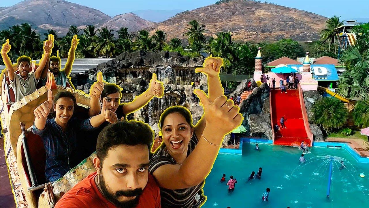 വെള്ളത്തിൽ ചാടിയാൽ പിന്നെ പറയണോ! | Trip to Malampuzha Amusement Park | Come on everybody