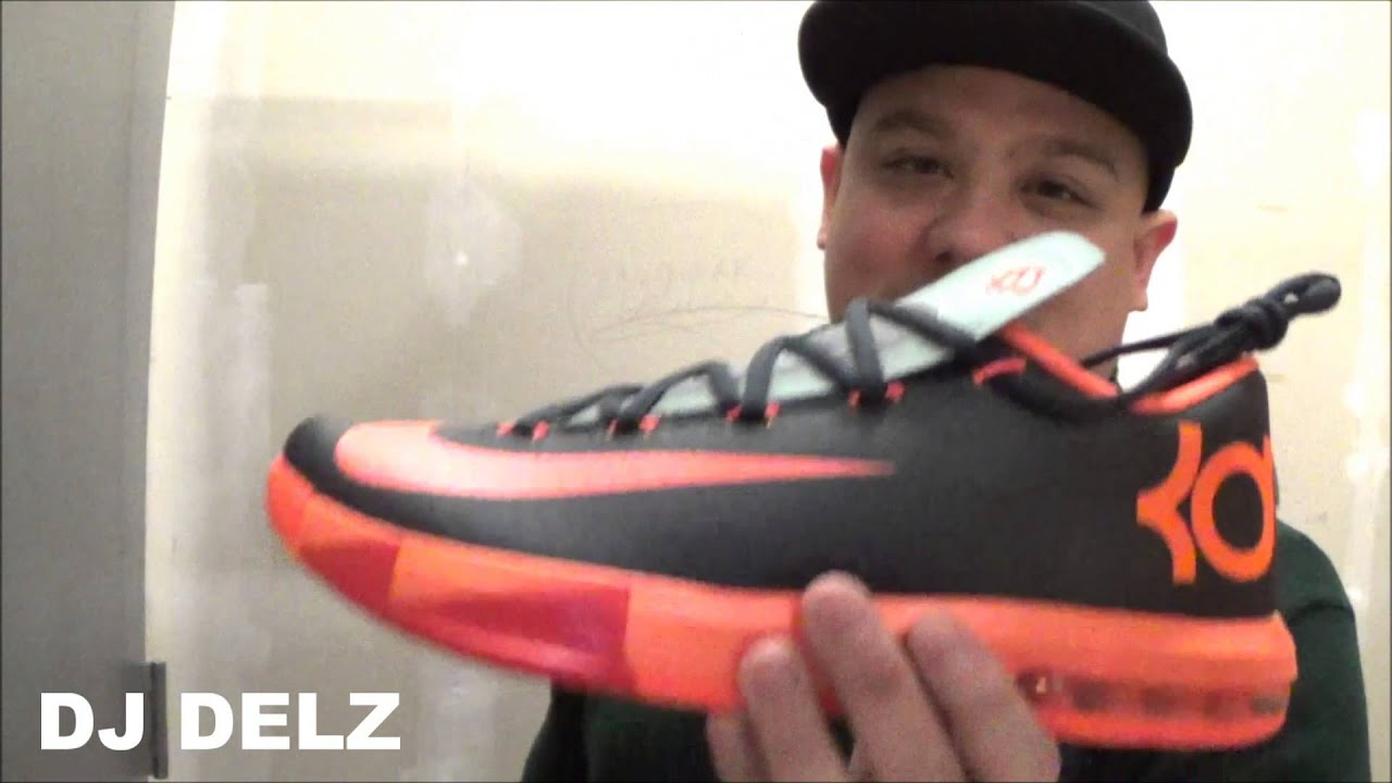 76b0ad5b997 Upcoming Nike KD 6 VI Neutral Orange Black Anthracite Sneaker Review + On  Feet W   DjDelz Dj Delz