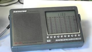 Degen DE 1103 radio review