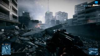 Gameplay PC sur Battlefield 3 - Ruée sur Grand Bazard