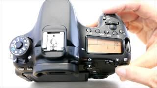 Canon EOS 70D (Body Design) Review