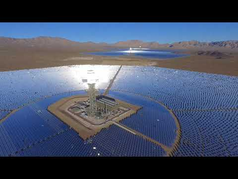Solar Power Plant Drone Video  (Las Vegas, NV)