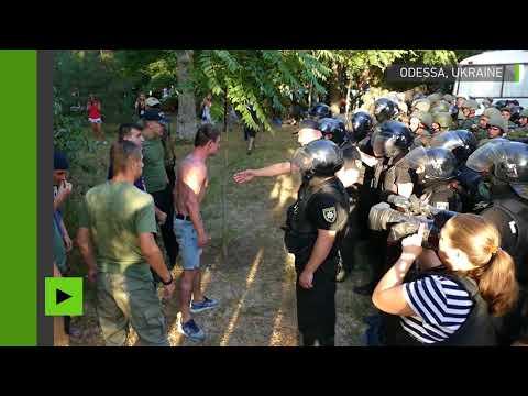 Violents affrontements après l'acquittement des accusés du drame du 2 mai 2014 à Odessa