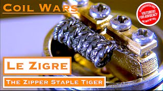 coil wars and how to build a zipper staple tiger coil