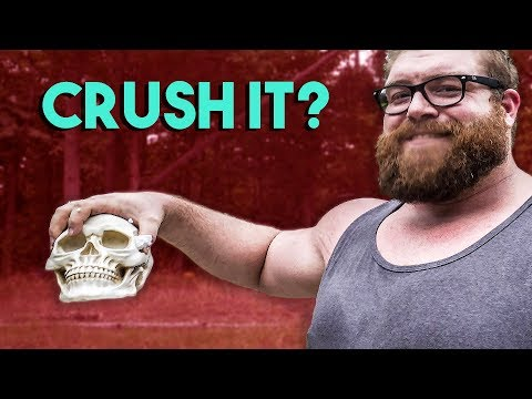 390LB MAN CRUSHES SKULL | Grip Gauntlet