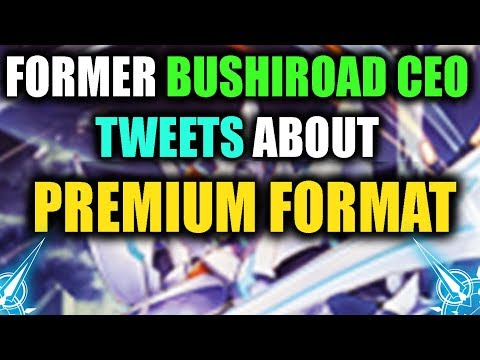 Former CEO of Bushiroad Chimes in + Clan Info (Imaginary Gift)