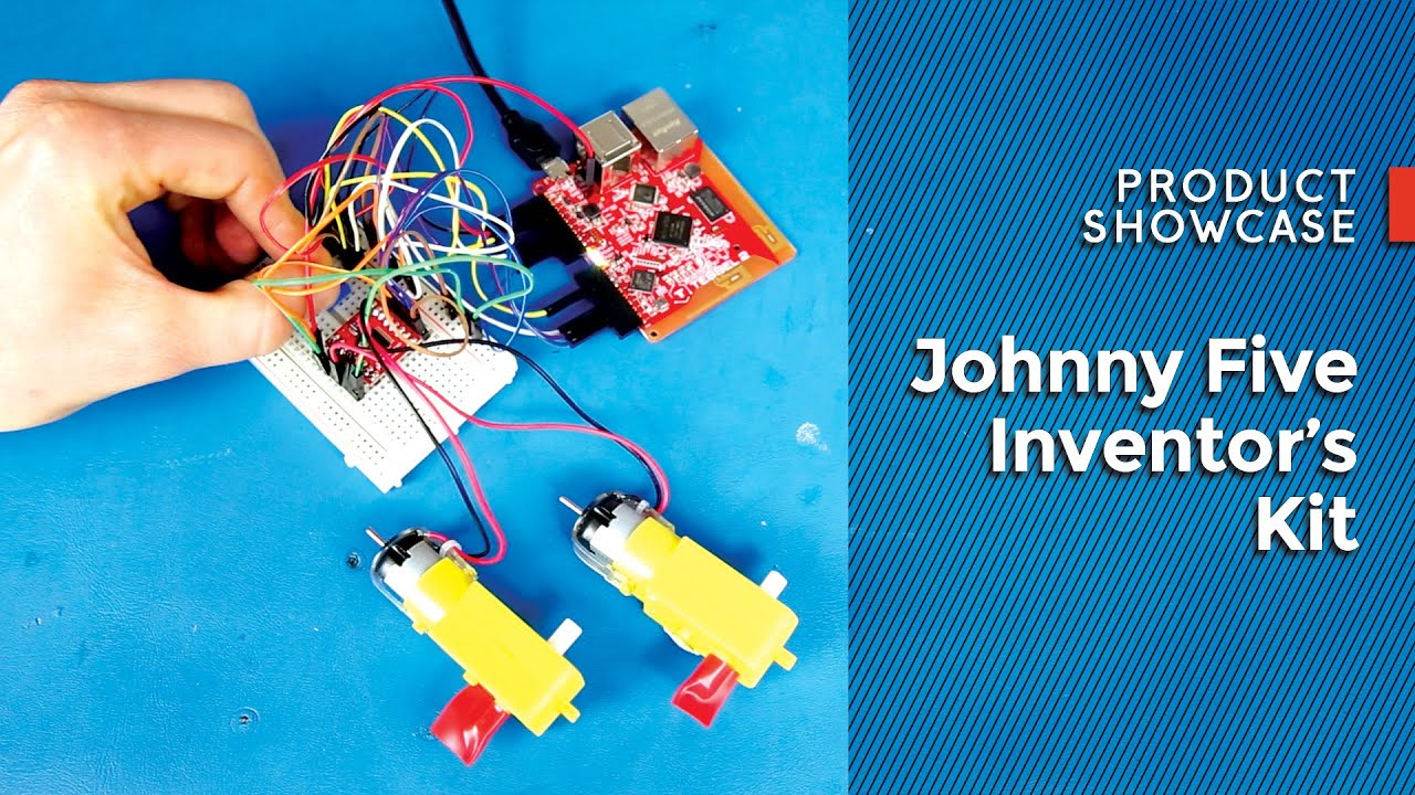 Experiment Guide for the Johnny-Five Inventor's Kit - learn