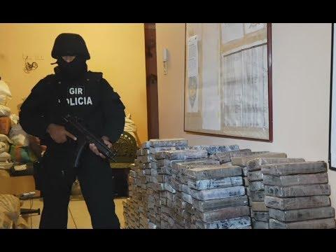 Decomisan en Puerto Bolívar una tonelada de droga
