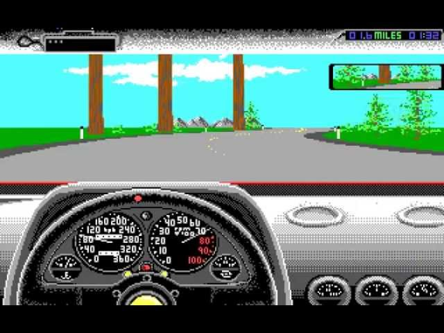 Test Drive II: The Duel - California Challenge! (PC/DOS) Accolade '1989
