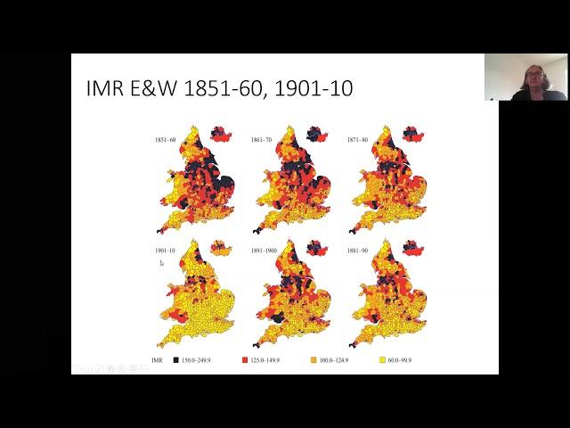 U3A talk on Population Health History by Professor Nicola Shelton