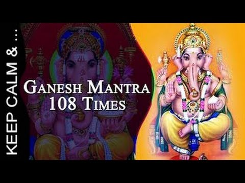 Ganesha Mantra Om Gam Ganapataye Namaha x 108(432 hz)गणेश