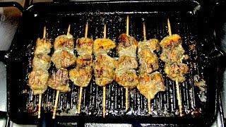 Chicken Malai Boti (Tikka) Sticks - BBQ Chicken Tikka Grill Recipe