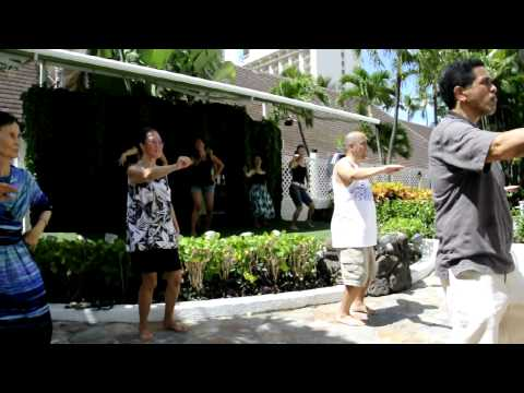 Hula at The Sheraton Princess Kaʻiulani - Ulupalakua