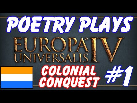 EU4 Rights of Man - Colonial Conquest! [Netherlands Campaign] - Episode 1