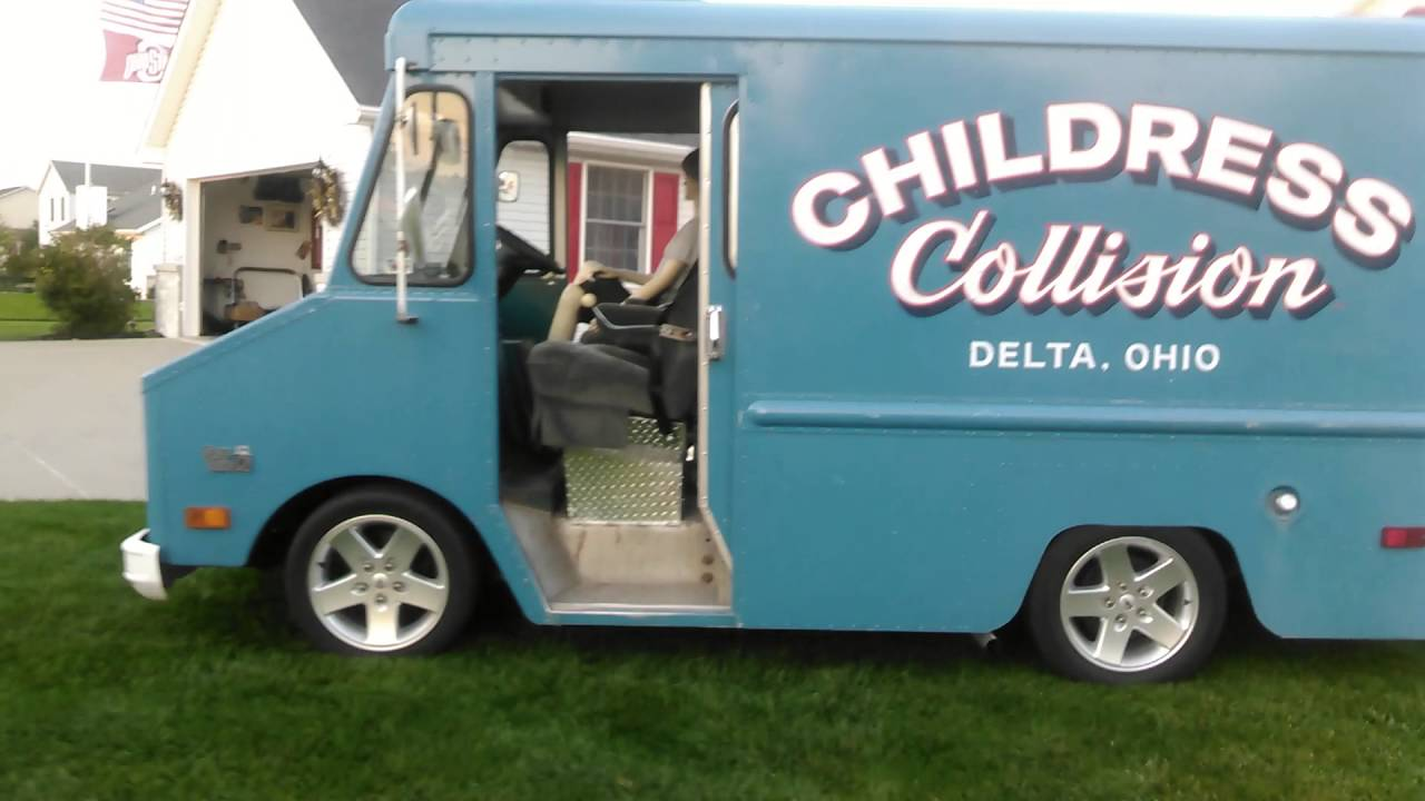 1977 Chevy P10 step van