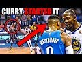 How Stephen Curry STARTED The Thunder-Warriors Rivalry In The NBA (Ft. Durant-Westbrook And a Shot)