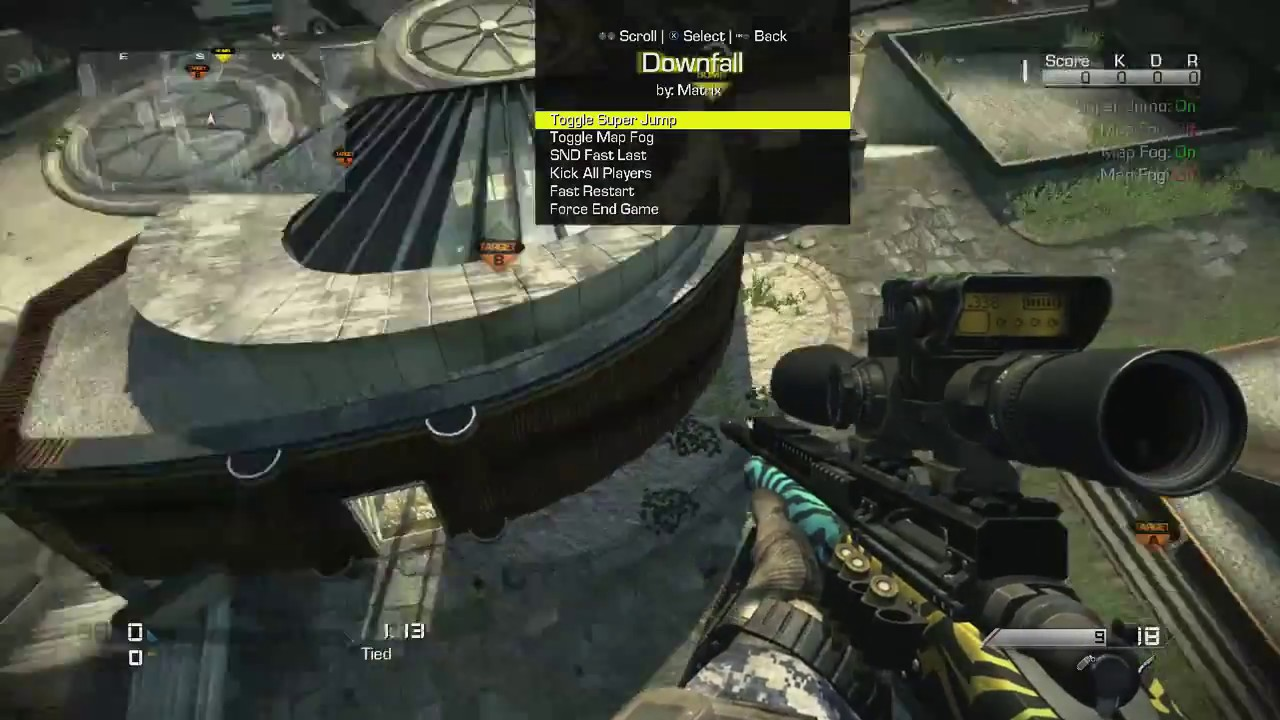 Ghosts | Downfall Xbox Edition (Best Ghosts TS Menu on Xbox) @jeanshorts
